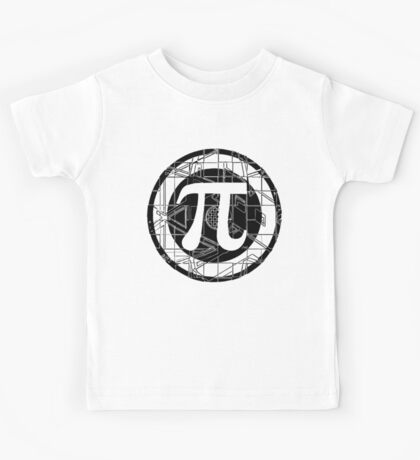Pi Day Pi Symbol Kids Tee