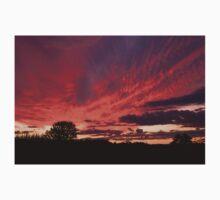 Red Sky Sunset Kids Tee
