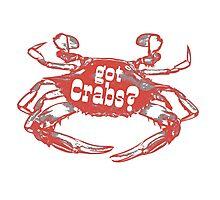 Got Crabs? Photographic Print