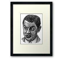 Bean Framed Print