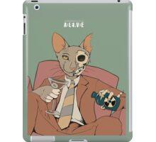 Schrodinger alcoholic cat iPad Case/Skin