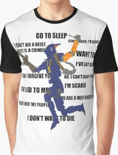 Chappie Quotes Graphic T-Shirt