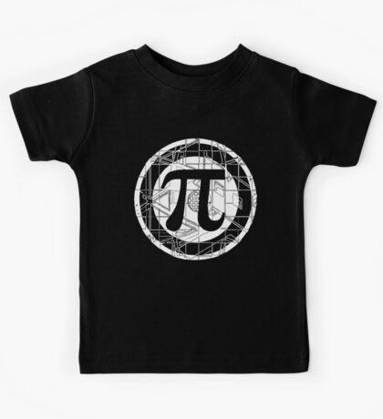Pi Day Pi Symbol White Kids Tee