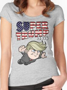Super Trump 2016 Women's Fitted Scoop T-Shirt