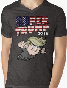 Super Trump 2016 Mens V-Neck T-Shirt