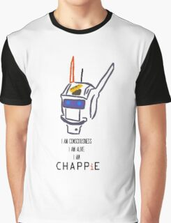 Chappie's Consciousness Graphic T-Shirt
