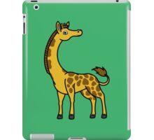 Gold Giraffe with Brown Spots iPad Case/Skin