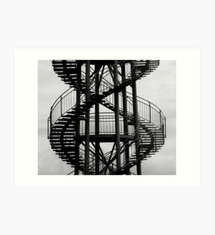 The DNA Tower Art Print