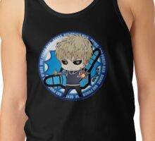 One Punch Man - Genos (Button) Tank Top