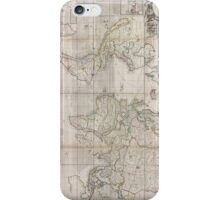 Vintage Map of The World (1719) iPhone Case/Skin