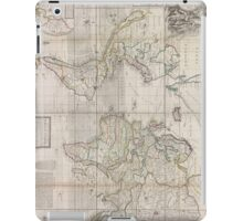 Vintage Map of The World (1719) iPad Case/Skin
