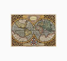 Vintage Map of The World (1596) Unisex T-Shirt