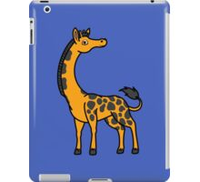 Orange Giraffe with Black Spots iPad Case/Skin