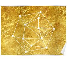 Gold Geomatrical Poster