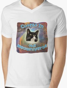 Cutest Meowniverse Mens V-Neck T-Shirt