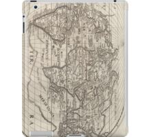Vintage Map of The World (1621) iPad Case/Skin