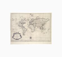 Vintage Map of The World (1750) Unisex T-Shirt