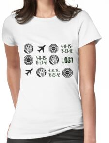 Lost-symbols Womens Fitted T-Shirt