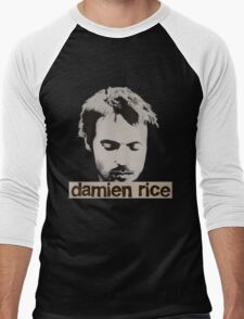 Damien Rice T-Shirt Men's Baseball ¾ T-Shirt