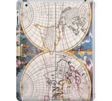 Vintage Map of The World (1700) iPad Case/Skin