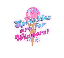 Sprinkles For Winners Photographic Print