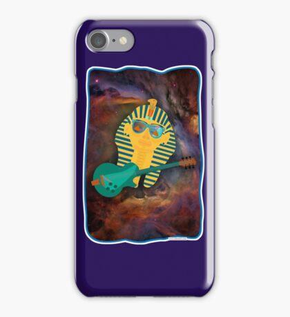 Space Tut Rocks iPhone Case/Skin