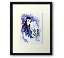 Cat-elves Framed Print