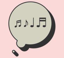 MUSIC ON MY MIND One Piece - Short Sleeve