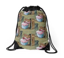 Mrs. Tittlemouse Looking in Cupboard, Art: After Beatrix Potter Drawstring Bag