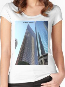 Los Angeles Highrise Women's Fitted Scoop T-Shirt