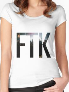 Buckeython Rave FTK Women's Fitted Scoop T-Shirt
