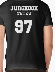 BTS - Jungkook Jersey Style Mens V-Neck T-Shirt