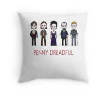 Penny Dreadful Family Throw Pillow