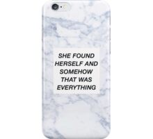 Taylor Swift, She Lost Him But She Found Herself iPhone Case/Skin