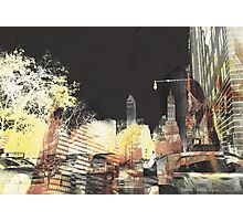 Beauty in chaos in New York Day Photographic Print