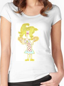 Patron Saint Of The Burbs Women's Fitted Scoop T-Shirt