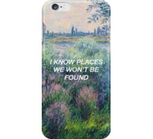 I Know Places: Monet iPhone Case/Skin