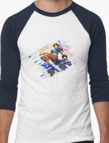 Chun Li Men's Baseball ¾ T-Shirt