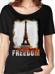 Eiffel tower Women's Relaxed Fit T-Shirt