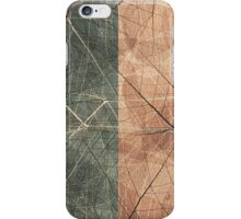 Leaf Cool, unique modern nature digital art design iPhone Case/Skin