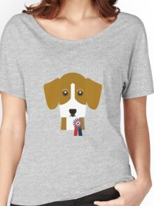 Champion Beagle Women's Relaxed Fit T-Shirt