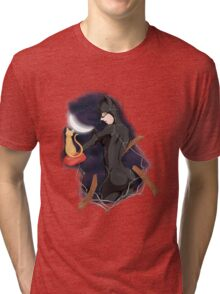 Cat woman Tri-blend T-Shirt