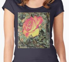 Storybook Secret Briar Rose  Women's Fitted Scoop T-Shirt