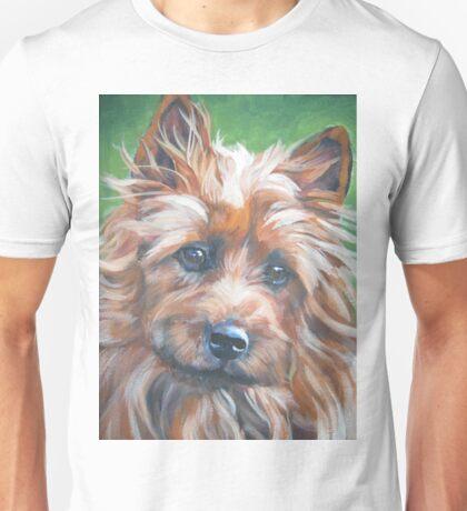 australian Terrier Fine Art Painting Unisex T-Shirt