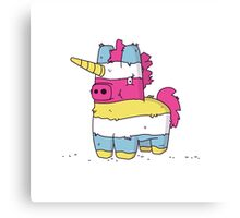 Pinata Unicorn Canvas Print