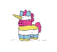 Pinata Unicorn Photographic Print