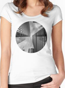 Cityscape Women's Fitted Scoop T-Shirt