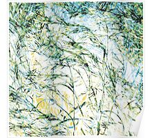 New life modern nature pattern bloom painting art design Poster