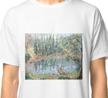Fishing in the Summer Rain Classic T-Shirt