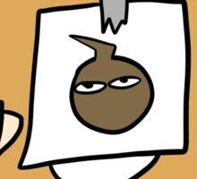 Bagel boy Sticker